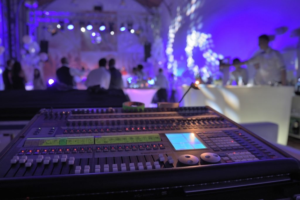 Sound system in the prom night