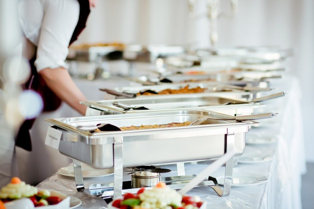 catering food for wedding
