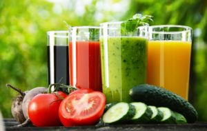 Fruits and vegetable detox