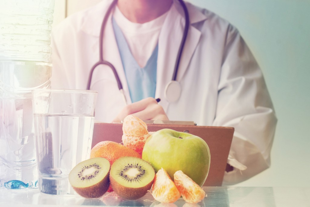 health and nutrition concept