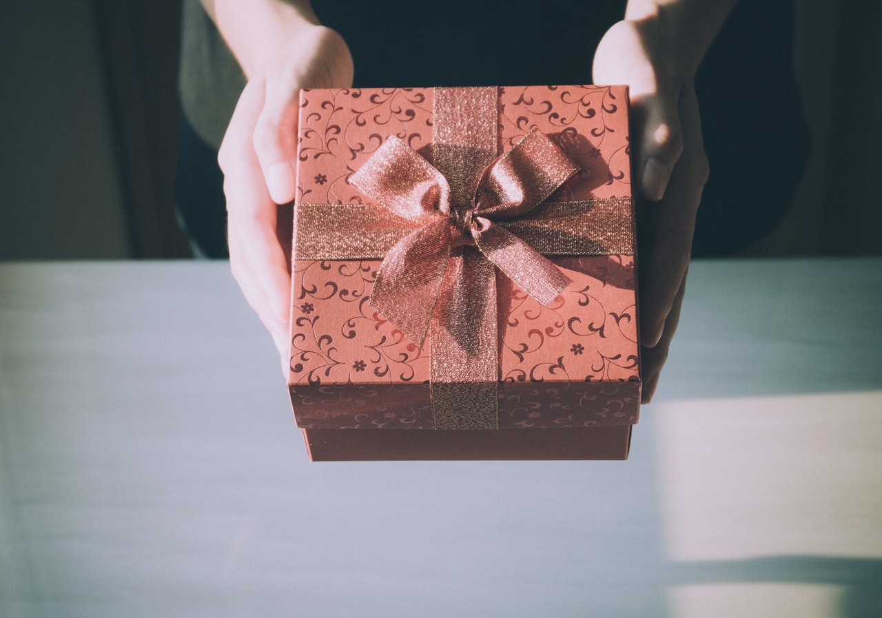gift giving concept