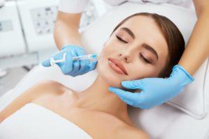 woman getting treatment